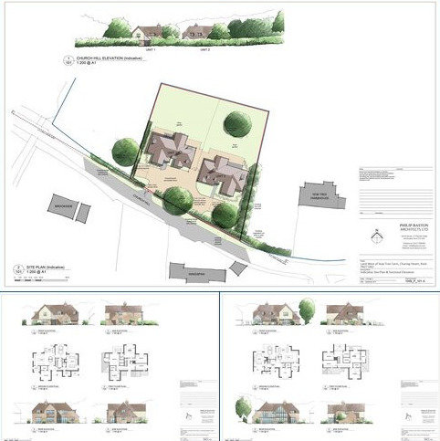 Plot for sale - Yew Tree Farm, C Road, Charing, Ashford