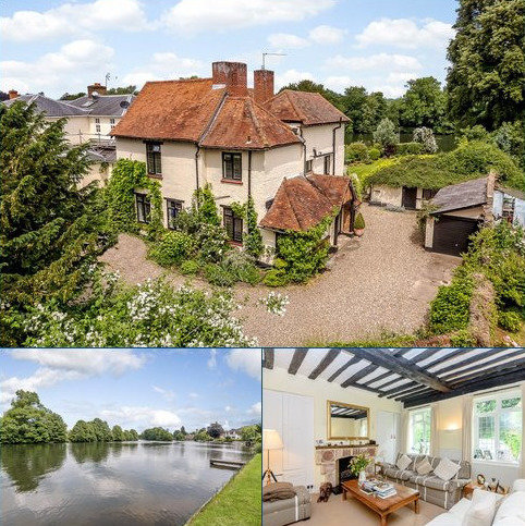 4 bedroom detached house for sale - Vicarage Walk, Bray, Maidenhead, Berkshire, SL6