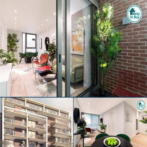 1 bedroom flat for sale - Bedford House, 215 Balham High Road, London, SW17
