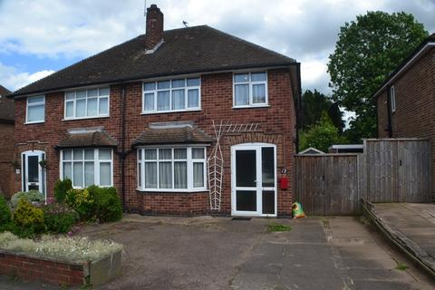 3 bedroom semi-detached house for sale - Bramcote Road, Wigston, Leicestershire, LE18