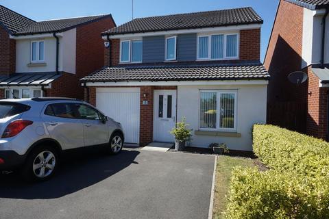 3 bedroom detached house for sale - Miller Close, NE12