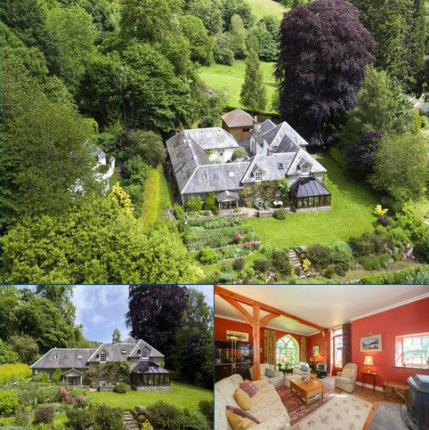 6 bedroom detached house for sale - Allt Mor House, Cloichfoldich, Strathtay, Perthshire, PH9