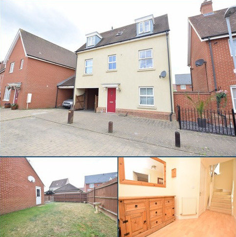 3 bedroom detached house for sale - James Parnell Drive, Colchester, CO2 8WR