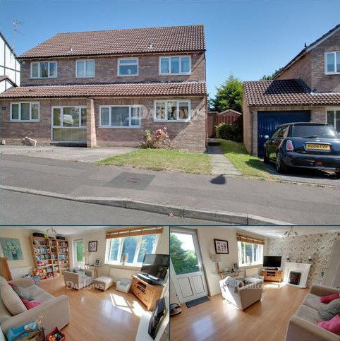 3 bedroom semi-detached house for sale - Sanderling Drive, St Mellons, Cardiff