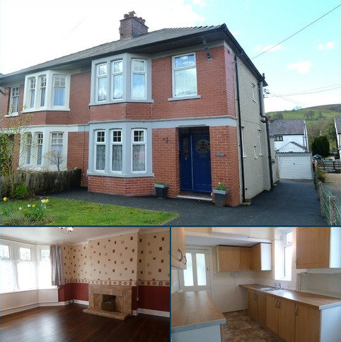 3 bedroom semi-detached house for sale - Defynnog Road, Sennybridge, Brecon, Powys.