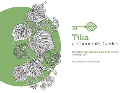 2 bedroom flat for sale - 2 Beds Tillia At Canonmills Garden, Hughes Close, Edinburgh, EH7