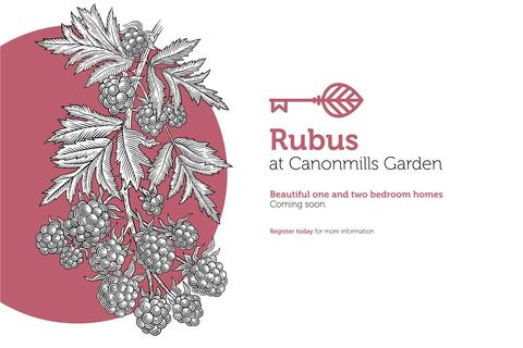 1 bedroom flat for sale - 1 Beds Rubus At Canonmills Garden, Hughes Close, Edinburgh, EH7