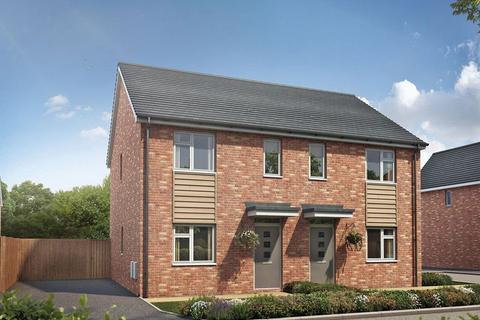 3 bedroom semi-detached house for sale - Plot 74,  The Lawrence,  Campden Road , CV37 8QR