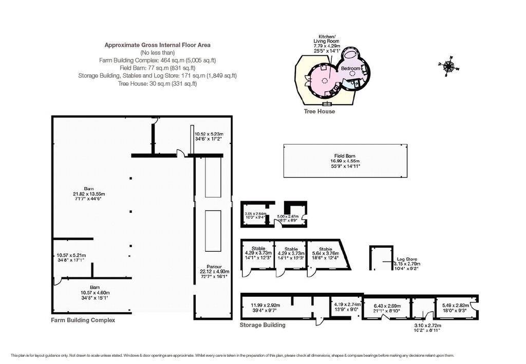 Floorplan 3 of 3: Farm Buildings
