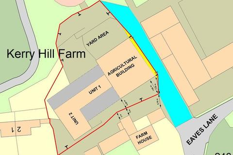 Land for sale - Conversion of Barns Off Eaves Lane, Kerry Hill, ST2 8NA
