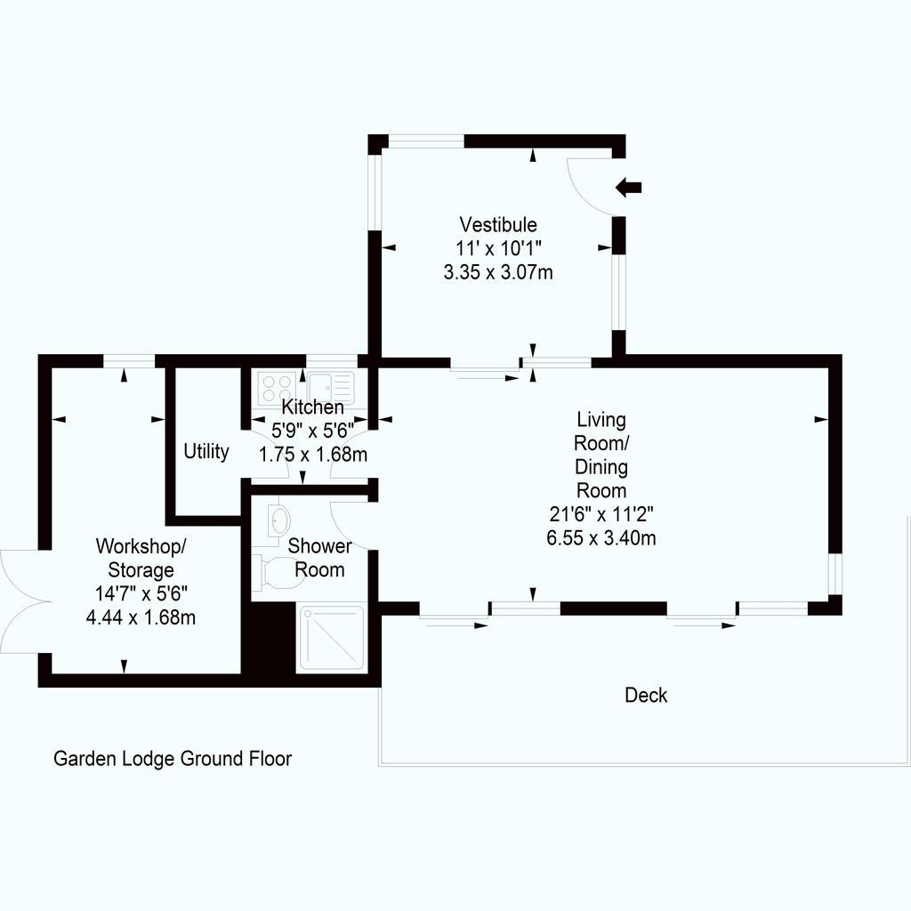 Floorplan 3 of 3: Garden Lodge