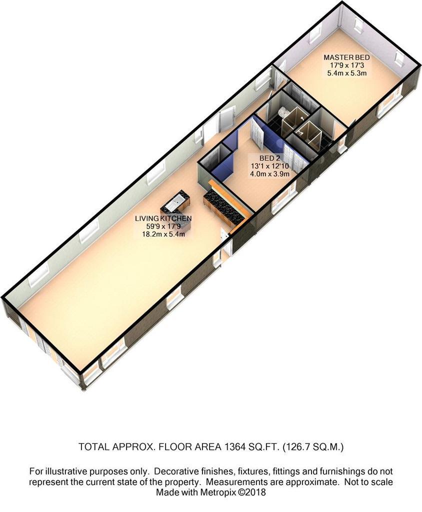 Floorplan 4 of 4: 187 Long Line 3 D Floor Plan