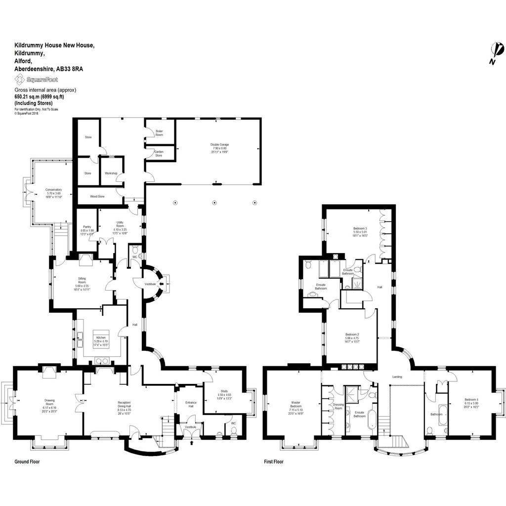 Floorplan 1 of 2: Kildrummy House