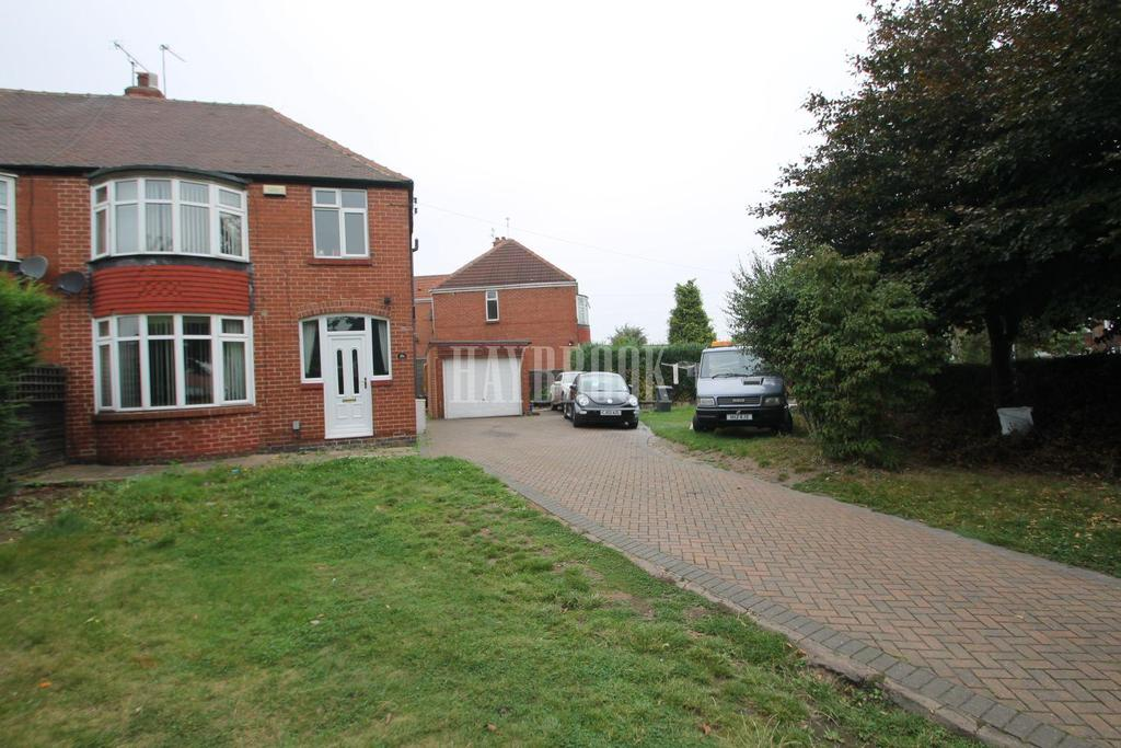 3 Bedrooms Semi Detached House for sale in East Bawtry Road, Broom