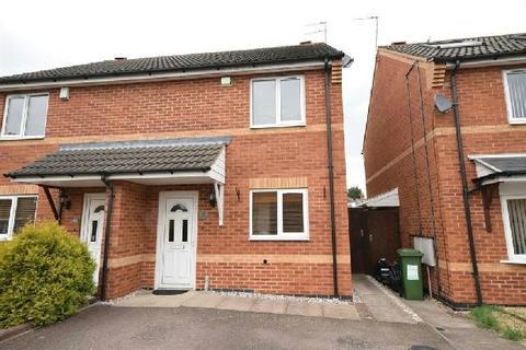 2 bedroom semi-detached house to rent - Lancaster Way, Glen Parva