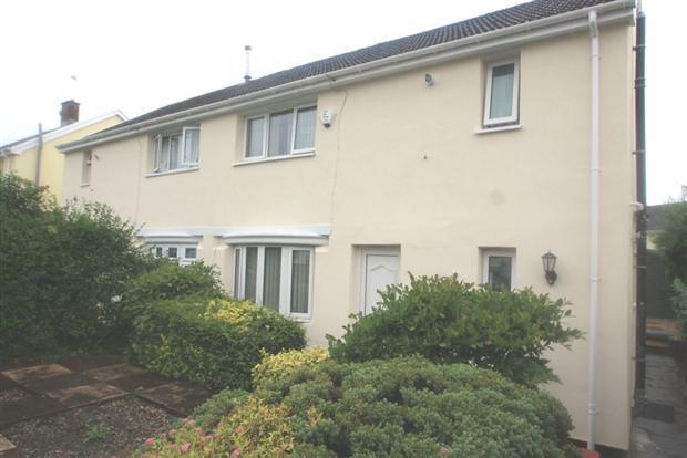 3 Bedrooms Semi Detached House for sale in Nantgwyn, Treharris