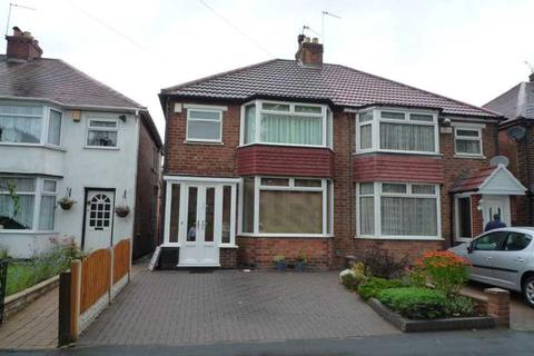 3 bedroom semi-detached house to rent - SAREHOLE ROAD, HALL GREEN, BIRMINGHAM. B28 8DT