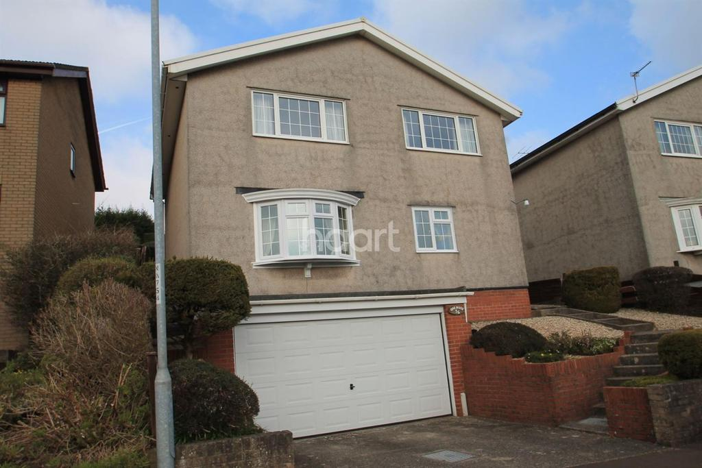 4 Bedrooms Detached House for sale in Cotswold Way, Off Chepstow Road, Newport