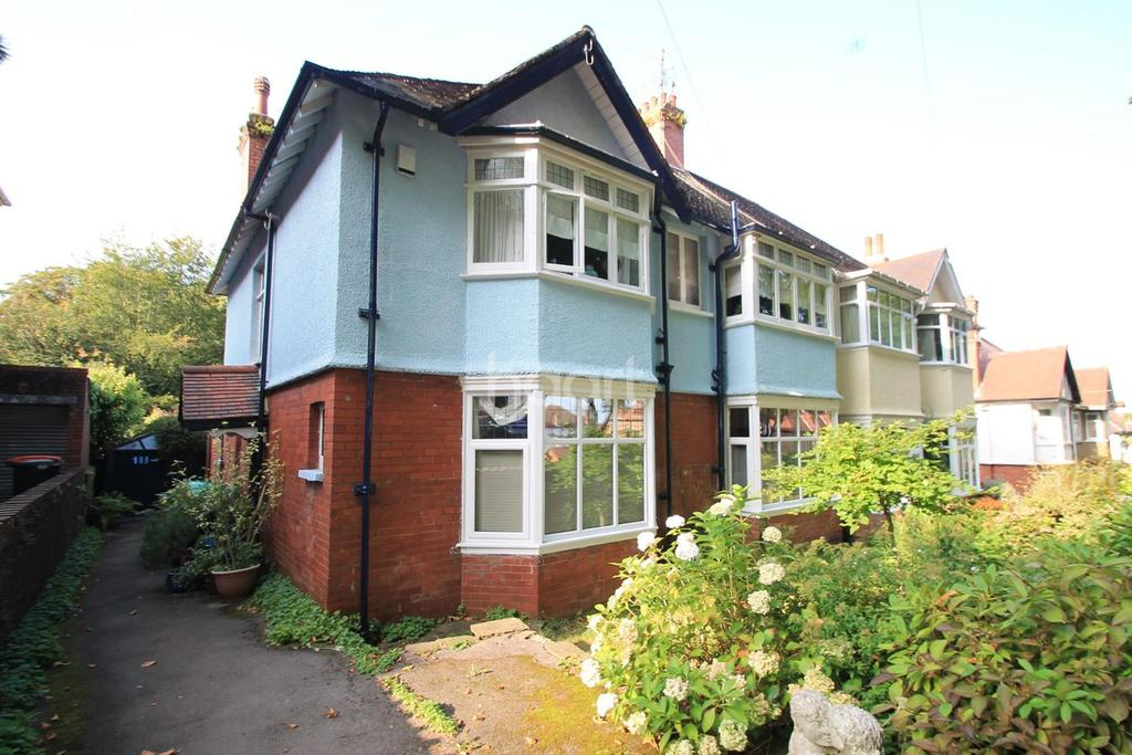 3 Bedrooms Maisonette Flat for sale in Edward Vii Avenue, newport
