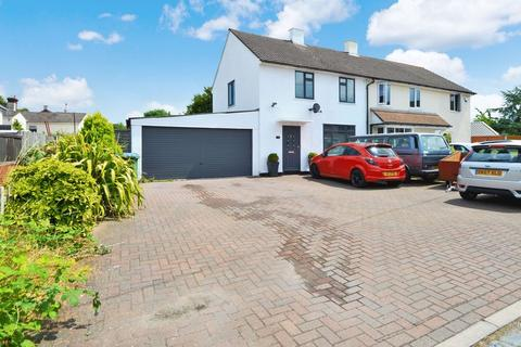 2 bedroom semi-detached house for sale - House with adjacent plot with planning permission