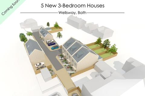 3 bedroom end of terrace house for sale - Plot 1 Wellsway, Bath
