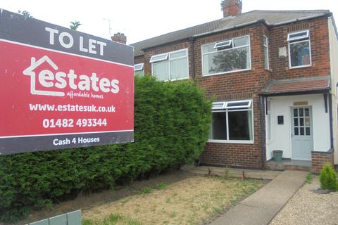 3 bedroom end of terrace house to rent - Leads Road, Hull HU7