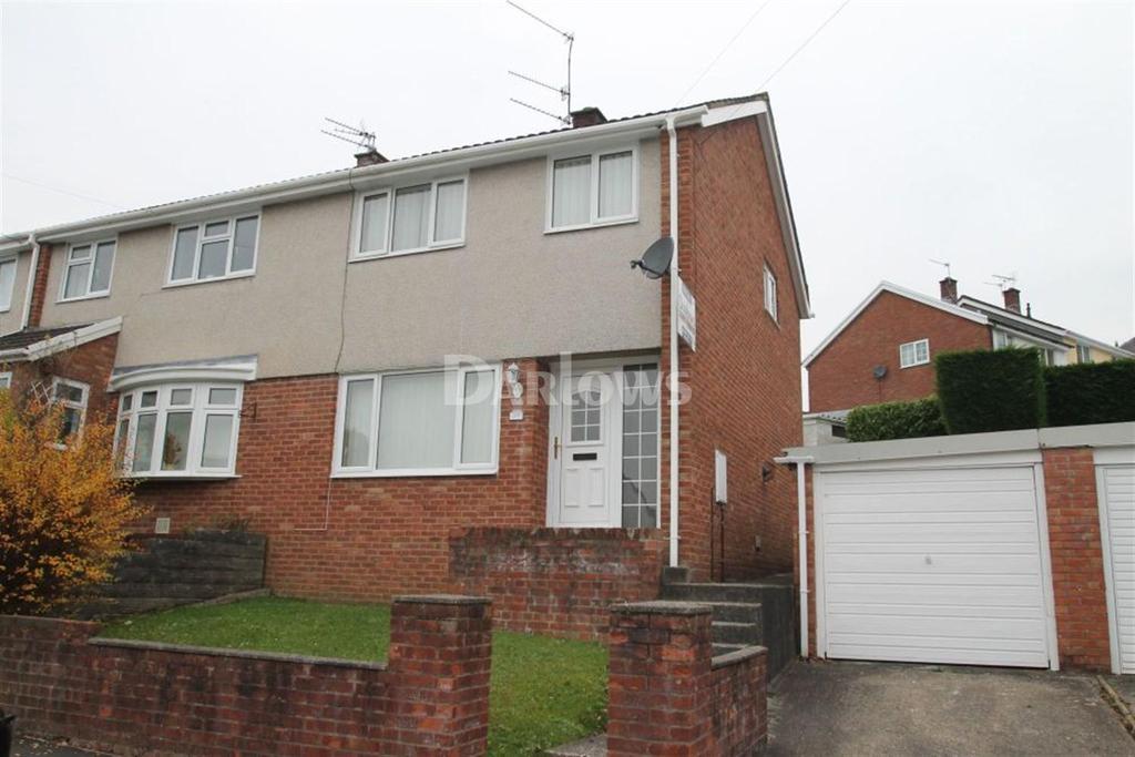 3 Bedrooms Semi Detached House for sale in Lanwood Road, Graigwen