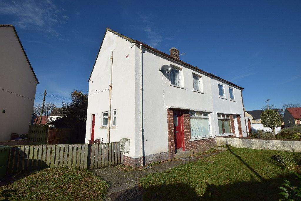 3 Bedrooms Semi Detached House for sale in Whiteside Road, Prestwick, South Ayrshire, KA9 1DX