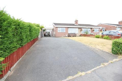 2 bedroom semi-detached bungalow for sale - Endon Drive, Brown Lees, Staffordshire, ST8 6NJ