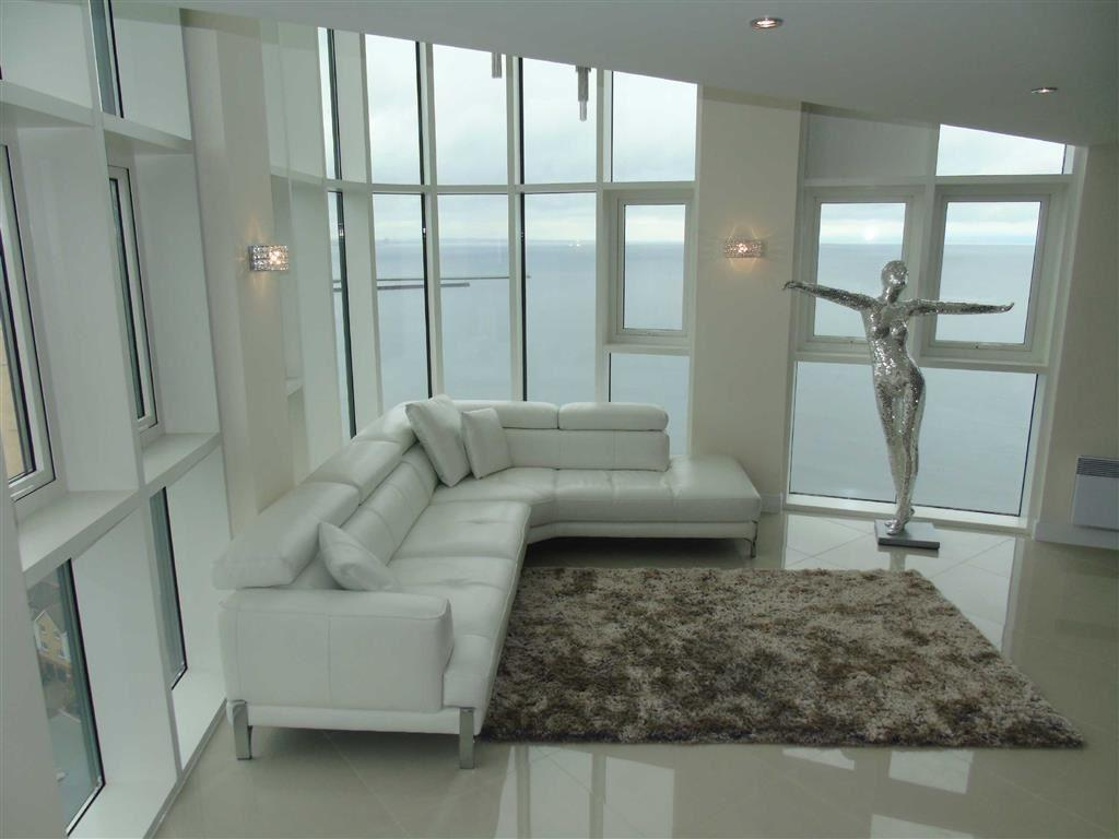 Meridian Tower, Trawler Road, Swansea 3 bed duplex for sale - £380,000