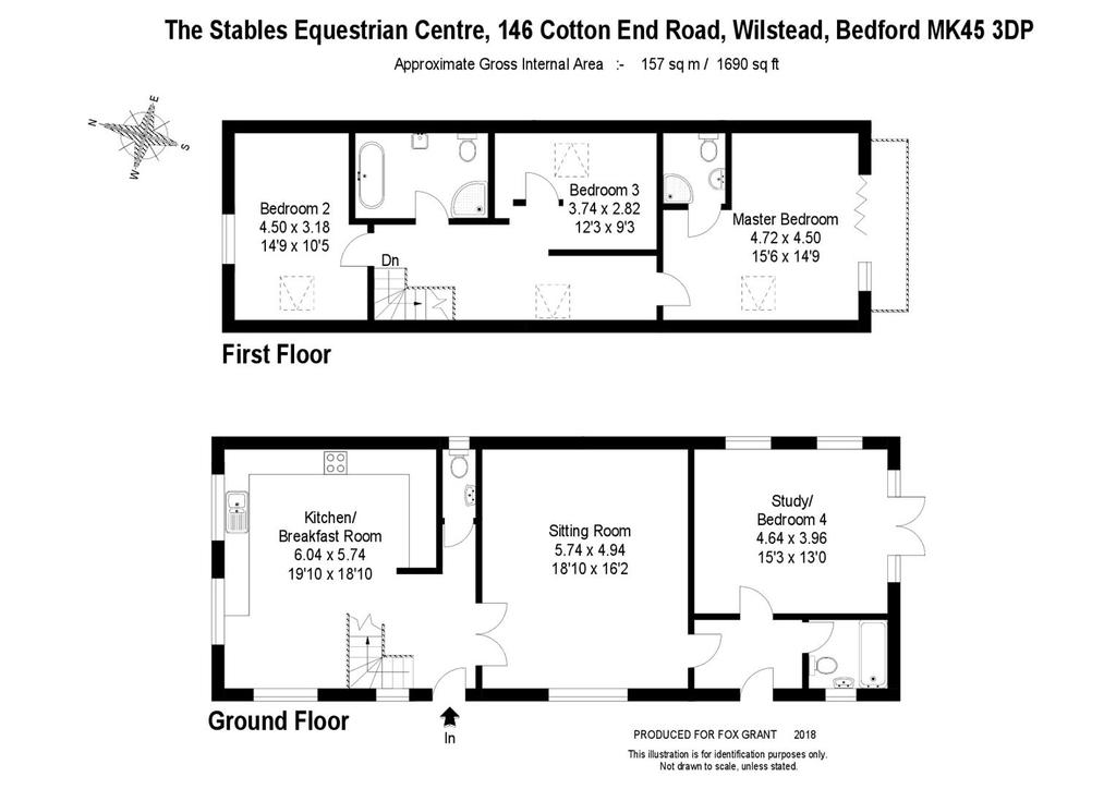 Floorplan 2 of 2: The Stables Equestrian Centre, 146 Cotton End Road