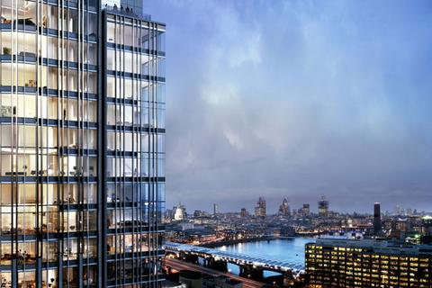 1 bedroom apartment to rent - Southbank Tower, Upper Ground, Southbank, London, SE1