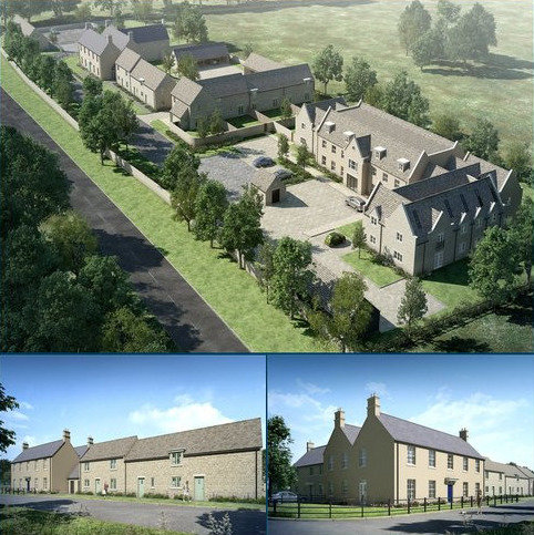 Residential development for sale - Little Windrush, Burford, Gloucestershire, OX18