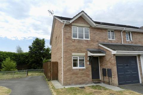 3 bedroom semi-detached house to rent - Llys Eglwys Bridgend CF31 5DT