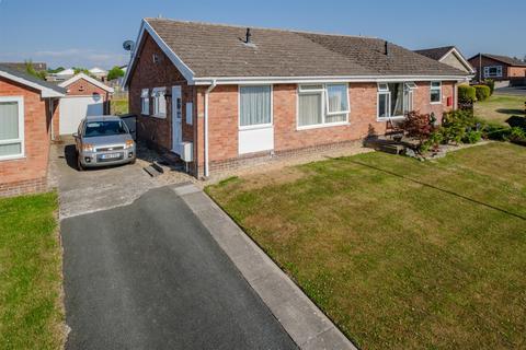 2 bedroom semi-detached bungalow for sale - 41 Holcombe Drive, Llandrindod Wells, LD1 6DN