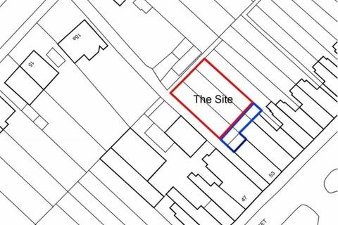 Land for sale - Land to the rear of Francis Street, Stoneygate, Leicester