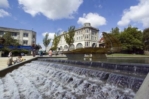 1 bedroom apartment to rent - Castle Lofts, Castle Street, Swansea. SA1 1JG