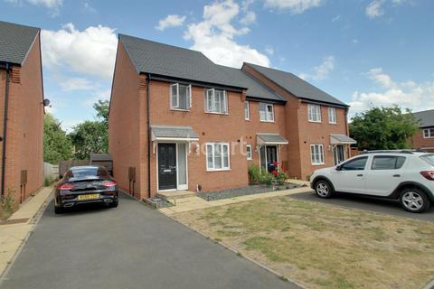 3 bedroom end of terrace house for sale - Earls Drive, Stenson Fields