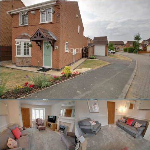 3 bedroom detached house for sale - Mawby Close, Whetstone, Leicester