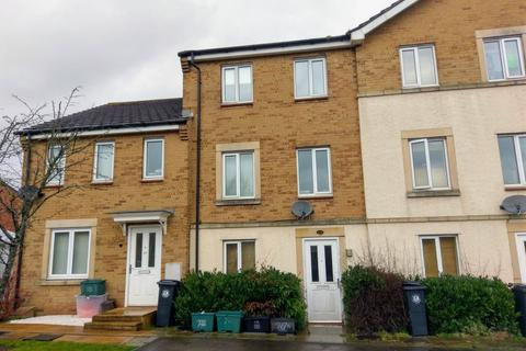 4 bedroom townhouse to rent - St Gregorys Road, Horfield, Bristol