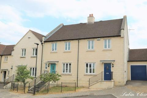 3 bedroom end of terrace house for sale - Sabin Close, Bath