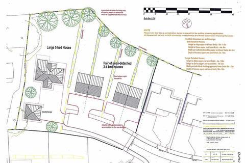 Residential development for sale - Plots At Caer Wylan, Cefnllan, Llanbadarn Fawr, Aberystwyth, SY23