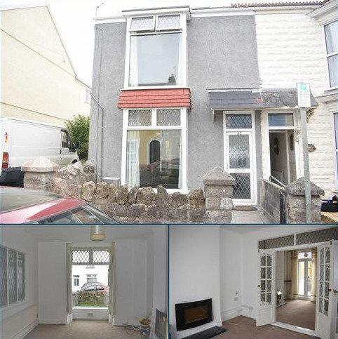 3 bedroom terraced house for sale - Woodville Road, Mumbles, Swansea