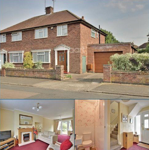 3 bedroom semi-detached house for sale - Talbot Road, Rushden