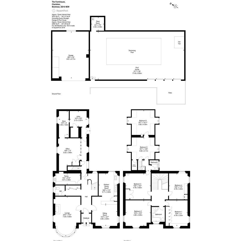 Floorplan 1 of 3: Charleton Farmhouse