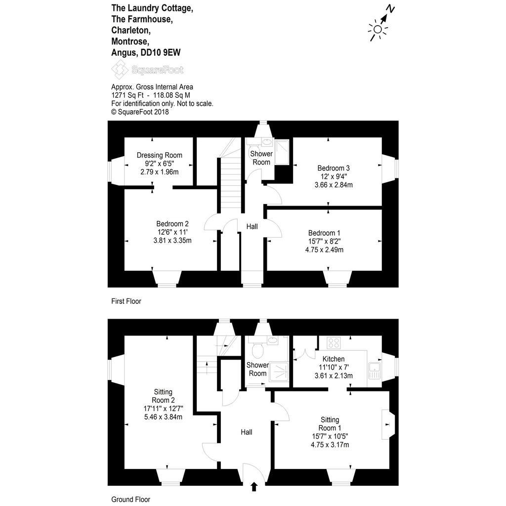 Floorplan 2 of 3: Laundry Cottage