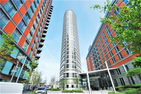 Studio to rent - Ontario Tower, 4 Fairmont Avenue, London