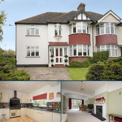 5 bedroom semi-detached house for sale - Goodhart Way, West Wickham
