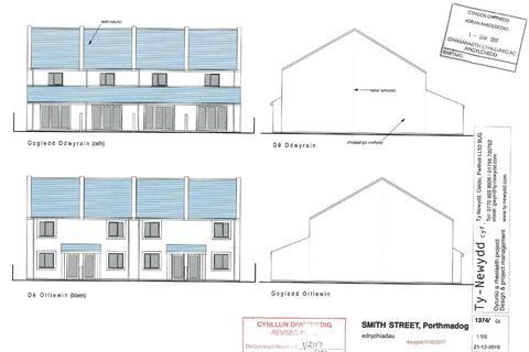 Land for sale - Smith Street, Porthmadog, Gwynedd