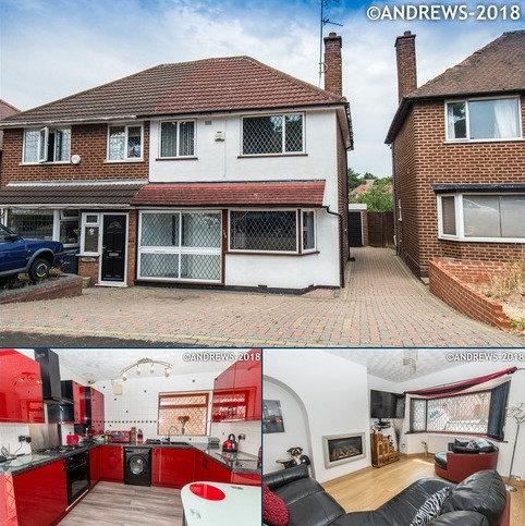 3 bedroom semi-detached house for sale - Brackenfield Road, Great Barr, BIRMINGHAM